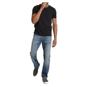 Mavi Med Wash Myles Straight Leg Jeans